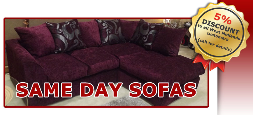 Dylan Zina Fabric Corner Sofa Right Hand Purple Burgundy